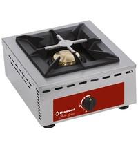 Diamond Tafelfornuis 1 brander | 7 kW | 370x510x195(h)mm