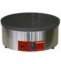 Diamond Pannenkoekplaat gas hoor rendement | 400(b)x200(h)mm