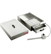 Diamond Elektrische rookkamer voor voeding | 1 verdieping 400x600mm | 250W | 715x415x230(h)mm