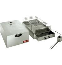 Diamond Rookkamer elektrisch voor voeding | 2 verdiepingen 400x600mm & 340x545mm | 250W | 715x415x360(h)cm