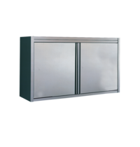Diamond Muurkast met klapdeuren | Met verstelbare/afneembare tussenplank | 800x400x600(h)mm