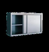 Diamond Muurkast met schuifdeuren | Met verstelbare/afneembare tussenplank | 1400x400x600(h)mm