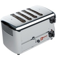 Diamond Toaster RVS elektrisch (croque monsieur) 4 tangen | 370x220x210(h)mm