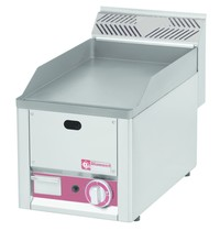 Diamond Bakplaat/Grillplaat Top  | Bakplaat 230x480mm | 4kW | 330x600x290(h)mm