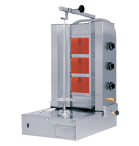 Naomi Donergrill 3 branders | gas | 10.2 kW/h | 565x665x985(h)mm