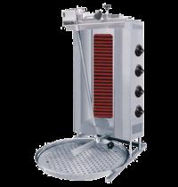 Naomi Donergrill 4 elementen | Elektrisch | 6.4 kW/h  | 565x810x115(h)mm