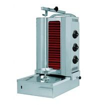 Naomi Donergrill 3 elementen | elektrisch | 4.8 kW/h  | 565x665x985(h)mm