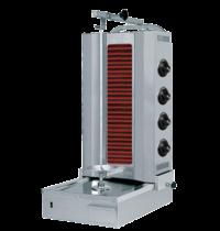 Naomi Donergrill 4 elementen | Elektrisch | 6.4 kW/h  | 565x665x115(h)mm