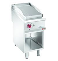 Diamond Bakplaat 1/2 | Met open kast | Bakplaat 380x720mm | 8kW | 400x900x850/920(h)mm