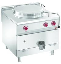 Diamond Kookketel gas met directe verwarming op meubel | 150 liter | 800x900x850/920(h)mm