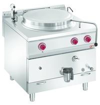 Diamond Kookketel gas met indirecte verwarming op meubel | 100 liter | 800x900x850/920(h)mm