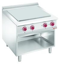 Diamond Kookplaat elektrisch met 4 verlaagde kookplaten op oven GN 2/1 | 14kW/h | 800x900x850/920(h)mm