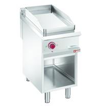Diamond Bakplaat/Grillplaat Verchroomd 1/2 | Met open kast | Bakplaat 380x720mm | 6kW | 400x900x850/920(h)mm