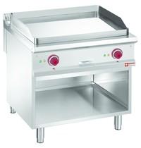 Diamond Bakplaat/Grillplaat 1/1 | Met open kast | Bakplaat 780x720mm | 12kW | 800x900x850/920(h)mm