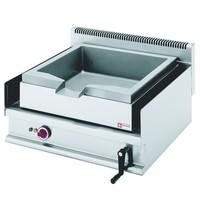 Diamond Braadpan RVS elektrisch kantelbaar 30L | 6,3kW/h | 700x650x300/400(h)mm