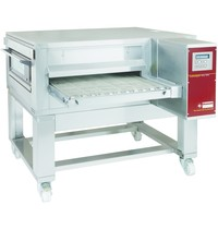 Diamond Tunnel oven gas geventileerd 650 | 25 of 155 pizza's/h | 0,44kW | 1550x2000x550/1100(h)mm