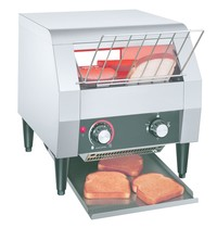 Diamond Toaster met lopende band | 6 sneden per/min | 1,94 kW/h | 368x416x387(h)mm