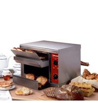 Diamond Toaster automatisch   300/450 sneden/h   2,65 kW/h   500x680x460(h)mm