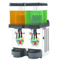 Diamond Gekoelde drank dispenser | 2x 12 liter | Roterend palletsysteem | 230V | 400x400x650(h)mm