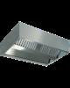 Diamond Centrale damkap 'KUBO'   10 labyrintfilters   2800x2200x450(h)mm