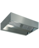 Diamond Centrale damkap 'KUBO' | 6 labyrintfilters | 2000x2200x450(h)mm
