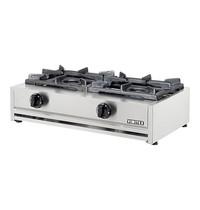 EMGA Kooktoestel Aardgas (cap.2st.) 710x400x200(h)mm