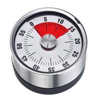 EMGA Kookwekker/Timer RVS/kunststof | Max 60min | 62cm
