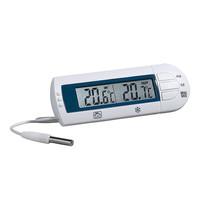 EMGA Koel/vriesthermometer met temperatuur alarm en magneetbevestiging incl batterijen -50/+70 graden