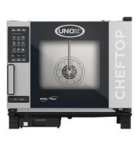 UNOX ChefTop (GN1/1)x05 MindPlus | 9,3kW/h | 780x750x680(h)mm