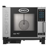 UNOX ChefTop (GN1/1)x05 MindPlus |9,3kW/h  | Met automatisch reinigingssysteem | 780x750x680(h)mm