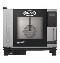 UNOX ChefTop (GN1/1)x05 MindOne digitaal | 3kW/h | Met pure-antikalkfilter | 780x750x680(h)mm