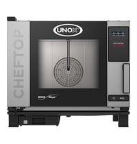 UNOX ChefTop (GN1/1)x05 MindOne digitaal | 3kW/h | Met pure-antikalkfilter | 783x750x675(h)mm