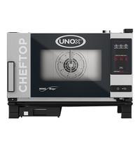 UNOX ChefTop (GN1/1)x03 MindOne | 5kW/h | Met automatisch reinigingssysteem  | 783x750x538(h)mm