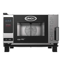 UNOX ChefTop (GN1/1)x03 MindOne | 5,2kW/h | Met automatische reinigingssysteem | 780x750x540(h)mm