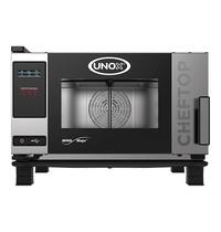 UNOX ChefTop (GN1/1)x03 MindOne | 3kW/h | Met pure-antikalkfilter | 780x750x540(h)mm