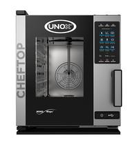 UNOX ChefTop (GN2/3)x05 MindPlus | 5,2kW/h | Met Touch bedieningsscherm | 660x540x650(h)mm