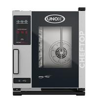 UNOX ChefTop (GN2/3)x05 MindOne | 5,2kW/h | met hete luchtcirculatie en automatisch reinigingssysteem | 660x540x650(h)mm