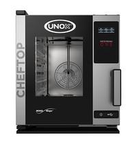 UNOX ChefTop (GN2/3)x05 MindOne | 5,2kW/h  | met Pure-antikalkfilter | 720x535x649(h)mm