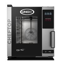 UNOX ChefTop (GN2/3)x05 MindOne |  3.0kW/h | met automatisch reinigingssysteem | 660x540x650(h)mm