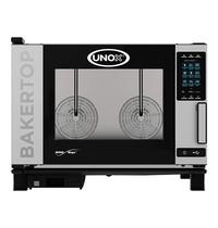 UNOX BakerTop (60x40cm)x04 MindPlus | 10,6kW/h | 10 verschillende producten tegelijk bakken | 960x860x680(h)mm