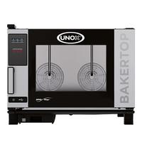 UNOX BakerTop (60x40cm)x04 MindOne | 7,4kW/h | Met heteluchtcirculatie | 960x860x680(h)mm