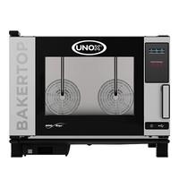UNOX BakerTop (60x40cm)x04 MindOne | 7,4kW/h | Met pure-antikalkfilter | 960x860x680(h)mm