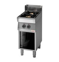 Modular Kooktoestel (cap.2st.) | 9,2kW | Met koperen branders, thermokoppel | 400x700x850(h)mm