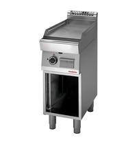 Modular Bakplaat (glad)   5,7kW   Voorzien van thermostatische veiligheidsklep   400x700x850(h)mm