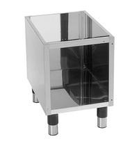 Modular Onderstel met ommanteling | Met onderschap en verstelbare poten | 400x540x570(h)mm