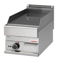 Modular Bakplaat (glad) 5,7W | Met piëzo elektrische ontsteking | 400x650x280(h)mm