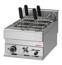 Modular pasta-kookapparaat 20L  | 1/1 GN | 6kW   | Uitgerust met een vulkraan |  400x650x280(h)mm