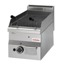 Modular Lavasteen grill | 11kW | Voorzien van piëzo elektrische ontsteking  | 300x600x280(h)mm