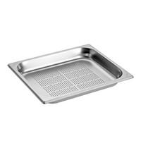 EMGA Gastronorm bak  RVS | 2,5 liter | 1/2GN | Geperforeerd | 325x265x40(h)mm