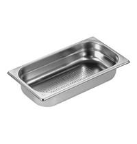 EMGA Gastronorm bak RVS | 1/3GN-065mm | Geperforeerd